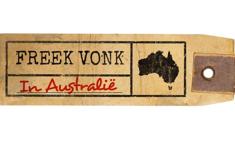 Freek Vonk in Australië