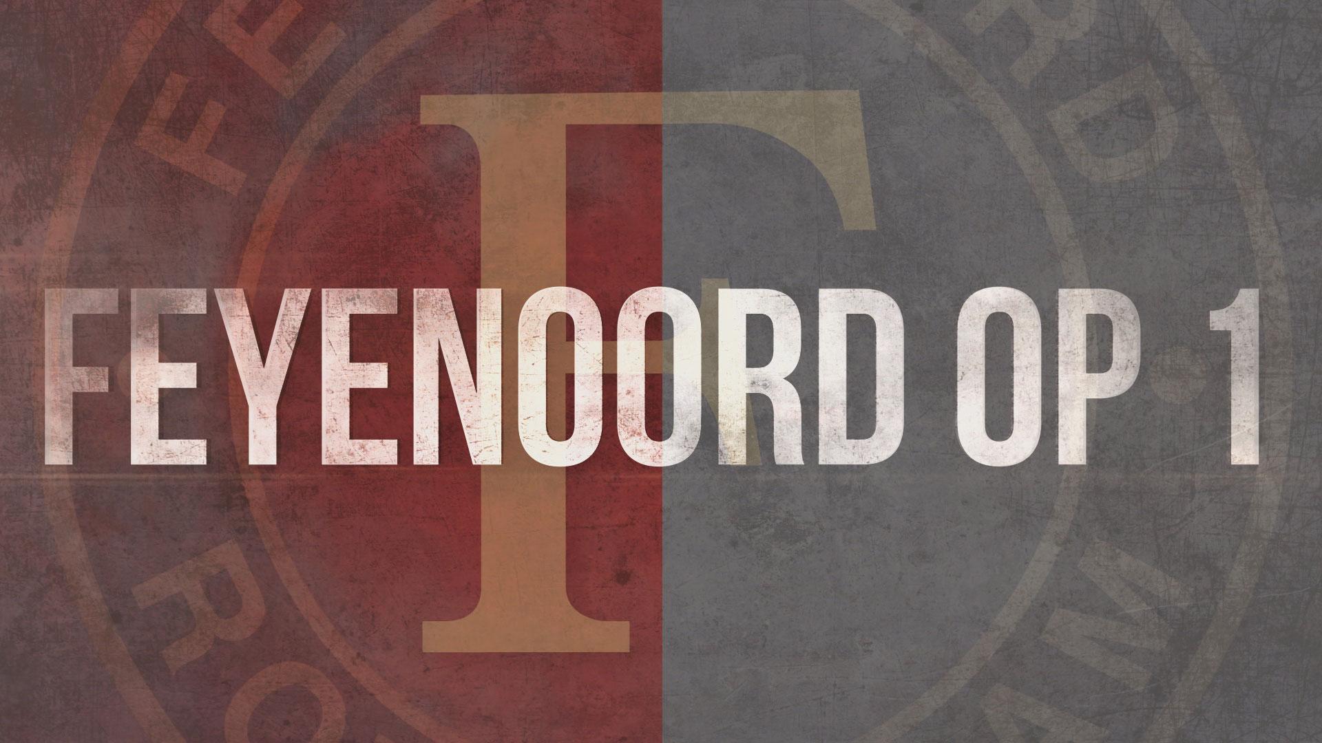 Feyenoord op 1