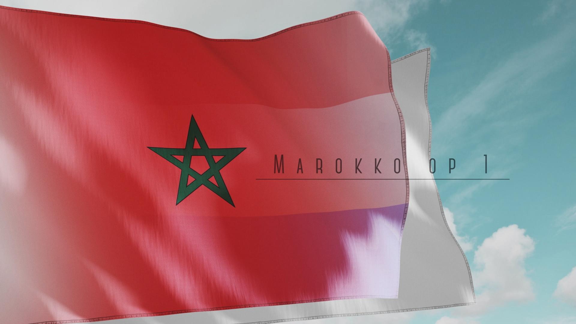 Marokko op 1